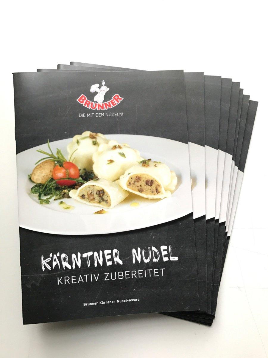 Kochbuch vom Kärntner Nudel-Award 2016