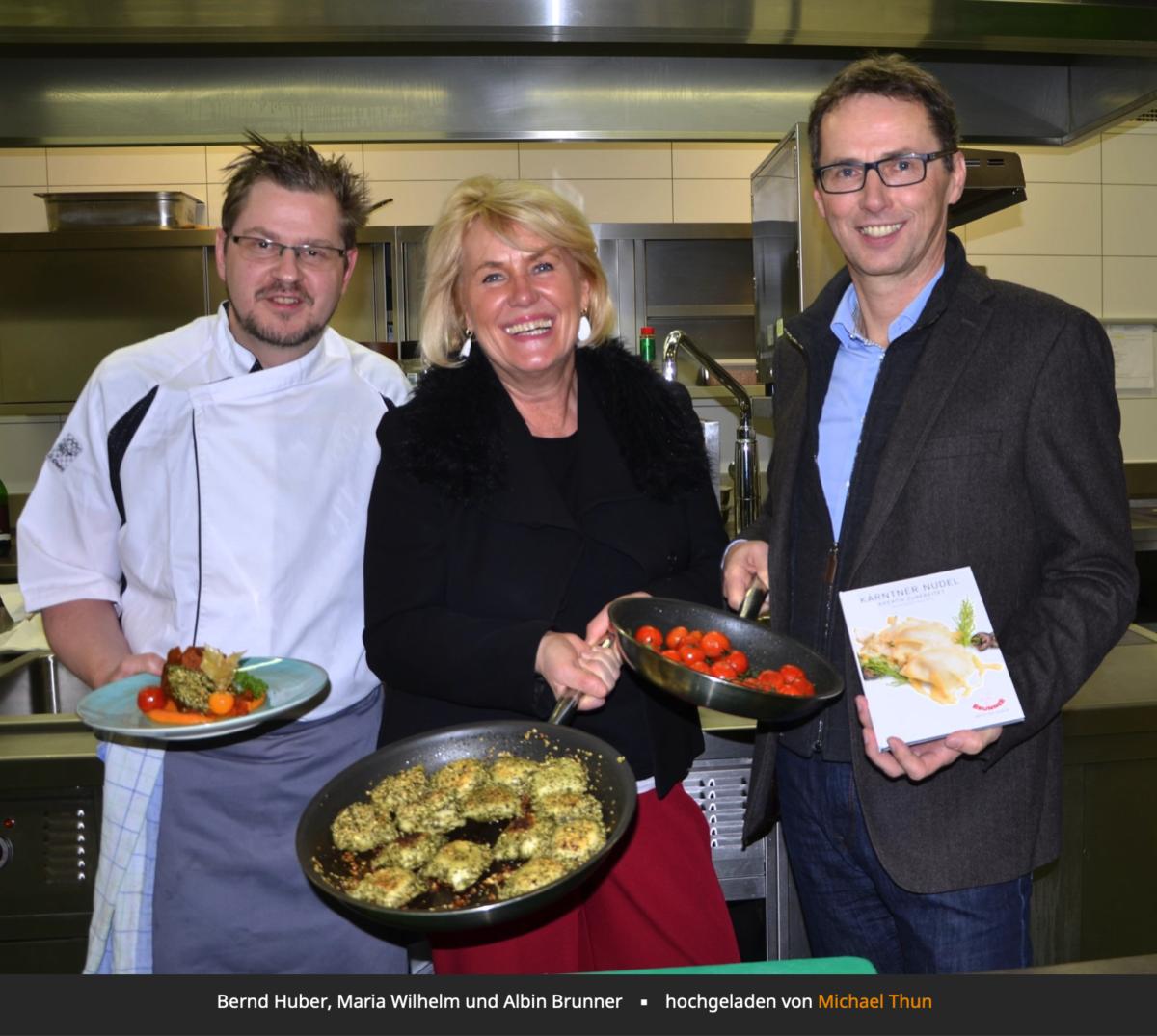 Präsentation des neuen Kochbuchs vom Kärntner Nudel-Award 2018.